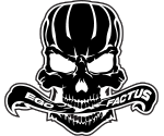Skully Ego Factus Blk Wht thumbnail