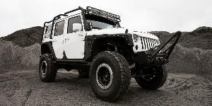 Jeep Wrangler SOTA Offroad D.R.T. Black w/ Raw Aluminum Ring